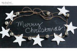 Star Christmas Garland