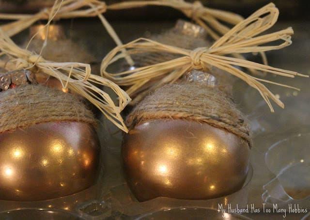 Fall Crafts Acorn Ornaments