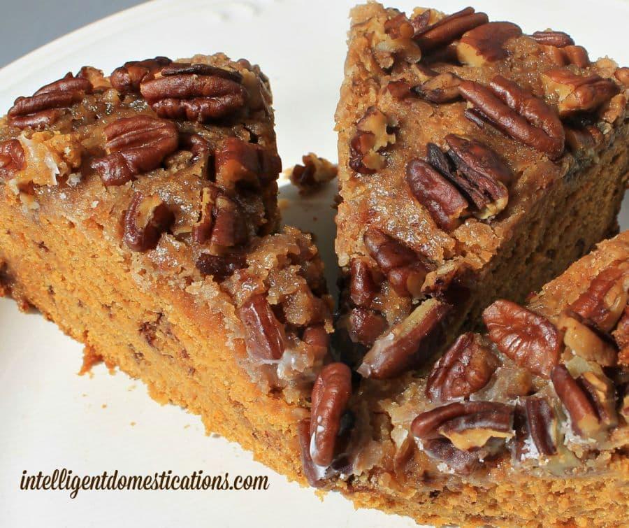 struesel pumpkin coffee cake