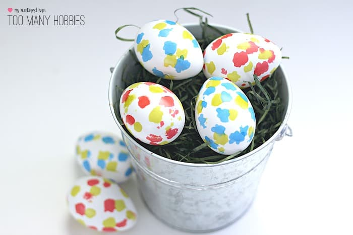 DIY Speckled Easter Eggs