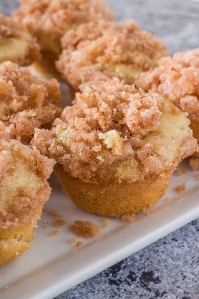 Mini Coffee Cake Muffins