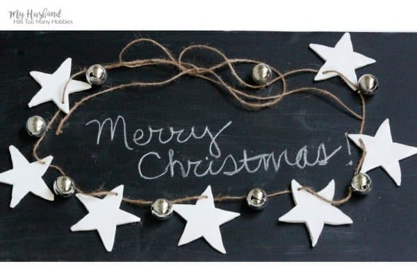 Air Dry Clay Christmas Garland