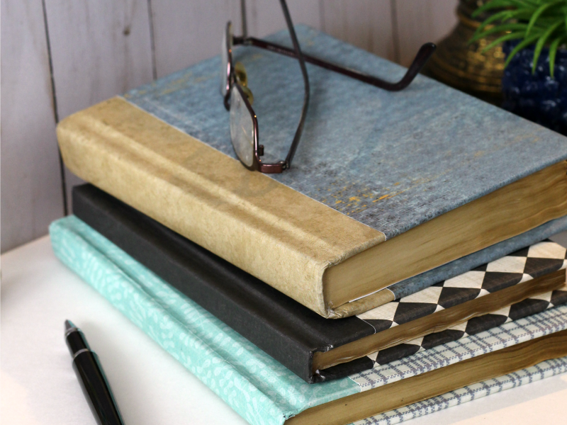 How To Make Faux Vintage Books